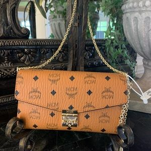 Gorgeous Authenticated MCM Crossbody Bag